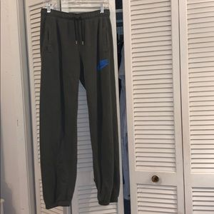 Nike Green Sweatpants